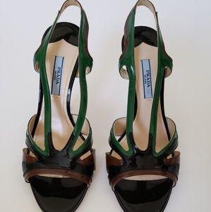Prada Slingback sandal heels